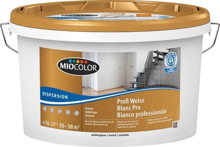Dispersion Profi seidenglanz Miocolor 660730700000 Farbe Weiss Inhalt 5.0 l Bild Nr. 1
