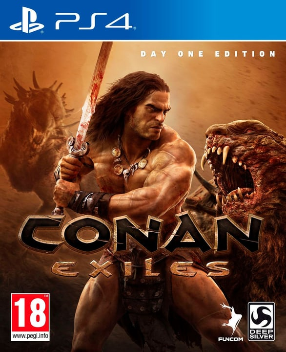 PS4 - Conan Exiles Day One Edition (F) Physisch (Box) 785300132647 Bild Nr. 1