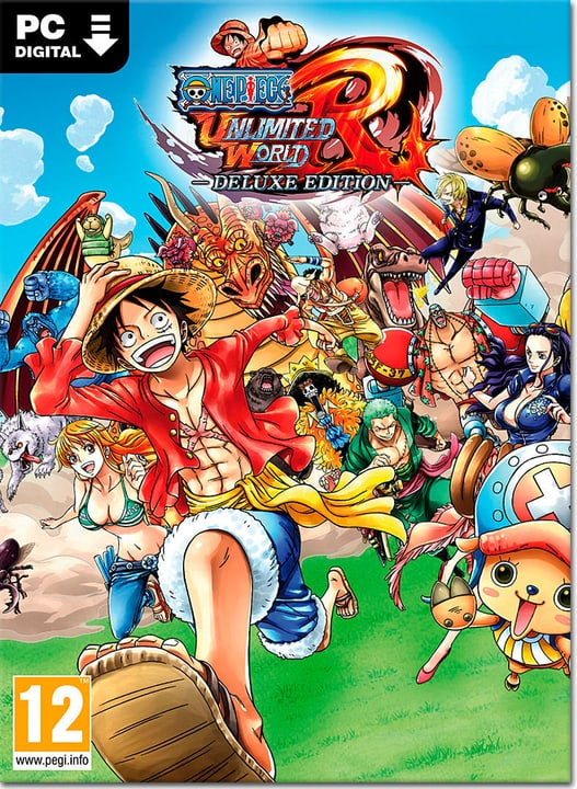 PC - One Piece: Unlimited World Red - Deluxe Edition - D/F/I Download (ESD) 785300134401 N. figura 1