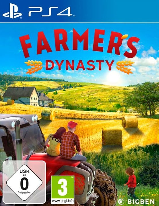 PS4 - Farmer's Dynasty D/F Box 785300138854 Bild Nr. 1
