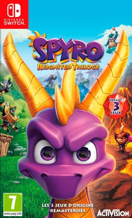 NSW - Spyro Reignited Trilogy  F Box 785300145283 N. figura 1