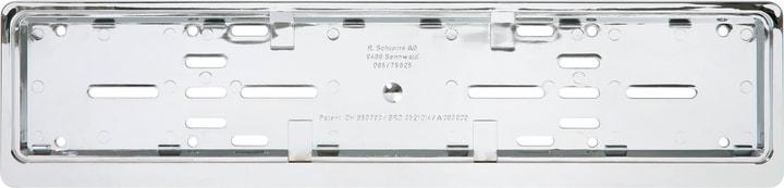 Set de supports pour plaques minéralogiques, chrome, horizontal Cadre pour plaque minéralogique Miocar 620623500000 Photo no. 1