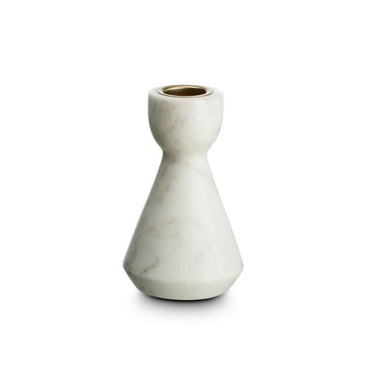 MARBLE II bougeoir 396080000000 Dimensions L: 6.5 cm x P: 6.5 cm x H: 10.5 cm Couleur Blanc Photo no. 1