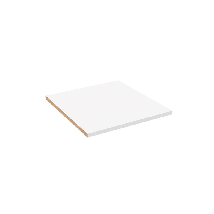 MILO BÜRO Tablare klein 364046585097 Grösse B: 48.4 cm x T: 35.5 cm x H: 2.2 cm Farbe Weiss Bild Nr. 1