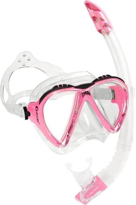 Lince & Gamma set snorkeling Cressi 491085400029 Colore magenta Taglie Misura unitaria N. figura 1