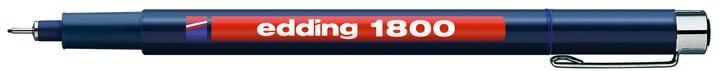 edding Profipen 1800 0,1 mm Edding 665570600030 Colore Blu N. figura 1