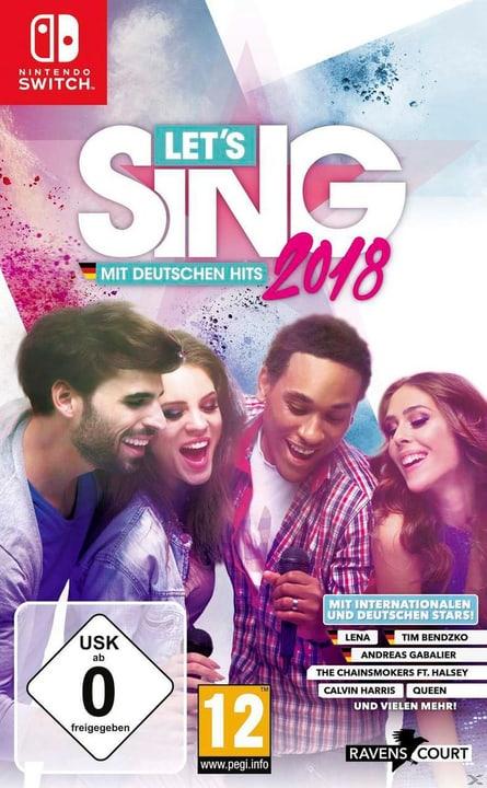 Let's Sing 2018 mit Deutschen Hits + 2 Mics (NSW) Box 785300129717 Photo no. 1