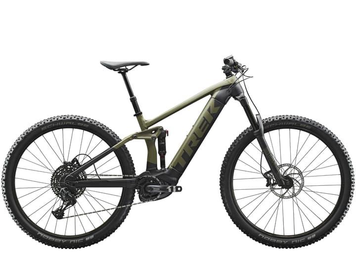 """Rail 5 29"""" E-Mountainbike Trek 463359717567 Colore oliva Dimensioni del telaio 17.5 N. figura 1"""