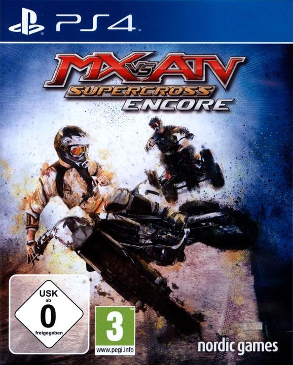 PS4 - MX vs ATV: Supercross Encore Fisico (Box) 785300121870 N. figura 1