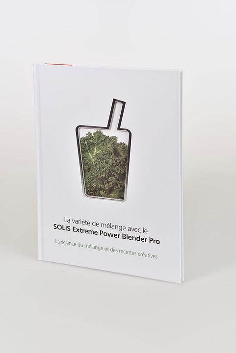 Livre de Recettes Extreme Power Blender Pro Français Solis 717449900000 Photo no. 1