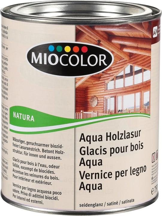 Glacis pour bois Aqua Miocolor 661283800000 Couleur Gris Argent Contenu 750.0 ml Photo no. 1