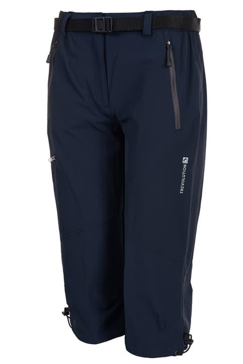Absam Pantaloni 3/4 donne Trevolution 461058103643 Colore blu marino Taglie 36 N. figura 1