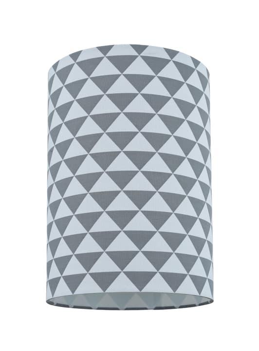 CYLINDER Abats-jour 20cm triangle 420804602084 Couleur Gris, Blanc Dimensions H: 29.0 cm x D: 20.0 cm Photo no. 1