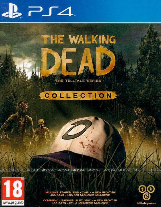 PS4 - The Walking Dead Collection: The Telltale Series D/F Box 785300130595 Photo no. 1