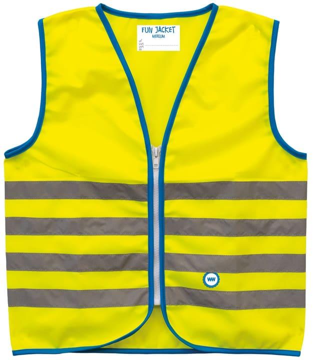 Gilet réfléchissant Fun Jacket jaune S Avertisseur de danger Wowow 620826400000 Taille S Couleur Jaune Photo no. 1