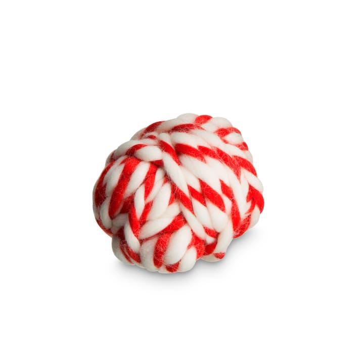 TWIST WOOL Ruban pour cadeau 386177800000 Dimensions L: 910.0 cm x P: 0.6 cm x H: 0.6 cm Couleur Rouge Photo no. 1