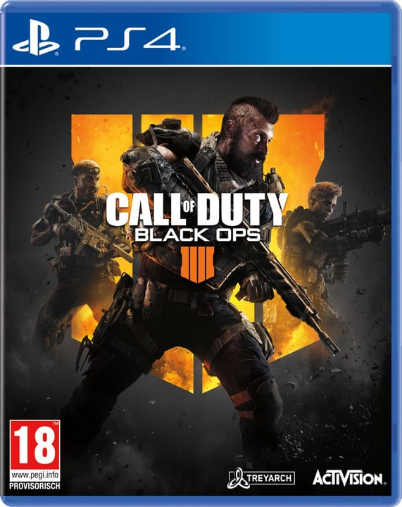 PS4 - Call of Duty: Black Ops 4 (D) Physique (Box) 785300135604 Langue Allemand Plate-forme Sony PlayStation 4 Photo no. 1