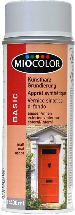 Vernice spray a base di resina sintetica Miocolor 660810200000 N. figura 1