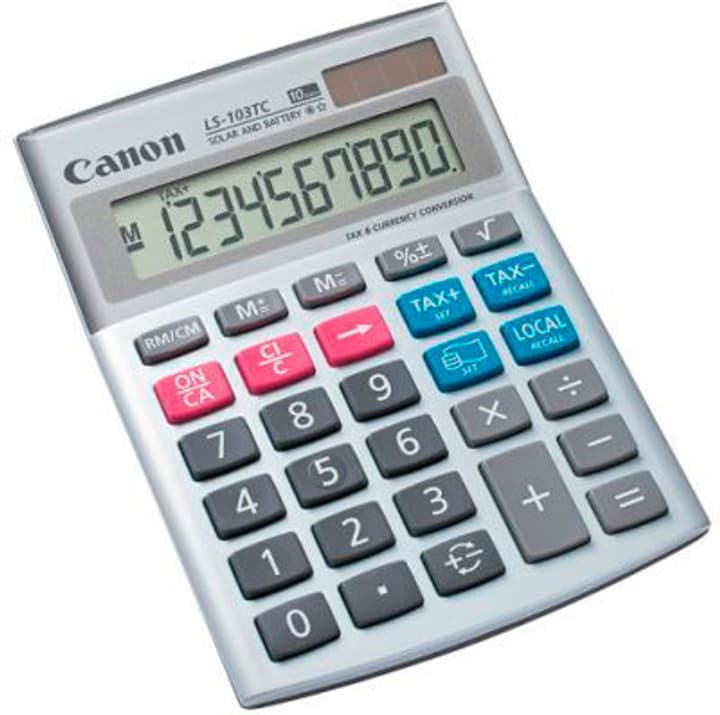 Calculatrice CA-LS103T 10-chiffres Calculatrice Canon 785300151127 Photo no. 1