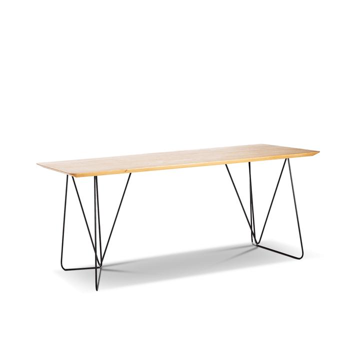 KITE Table 366180500000 Dimensions L: 180.0 cm x P: 95.0 cm x H: 76.0 cm Couleur Chêne Photo no. 1