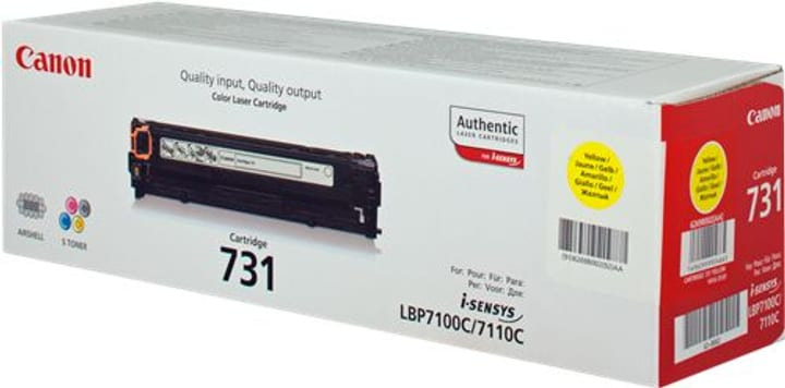 Toner 731 jaune 6269B002 Canon 798521000000 Photo no. 1