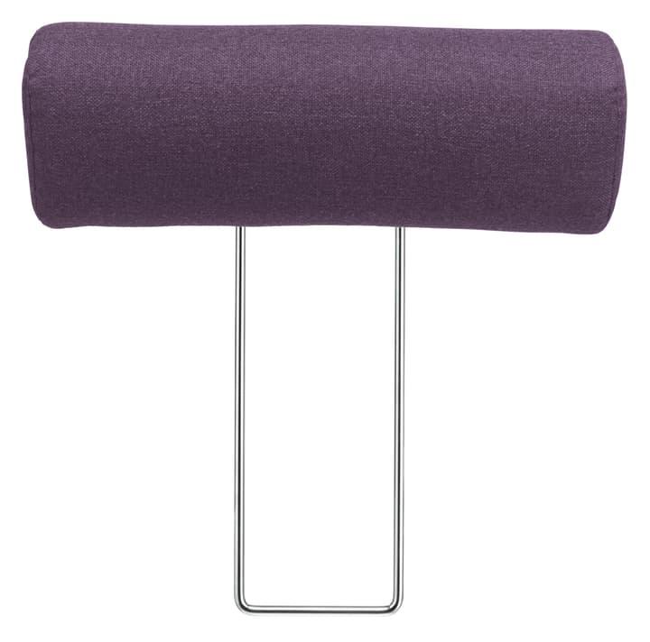 SANDER Appuie-tête 405666382723 Couleur Violet Dimensions L: 50.0 cm x P: 14.0 cm Photo no. 1