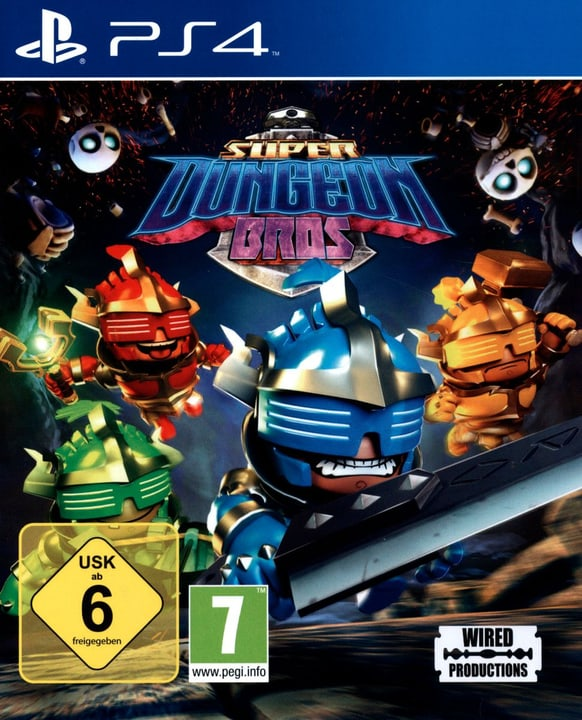 PS4 - Super Dungeon Bros. 785300121863 Bild Nr. 1