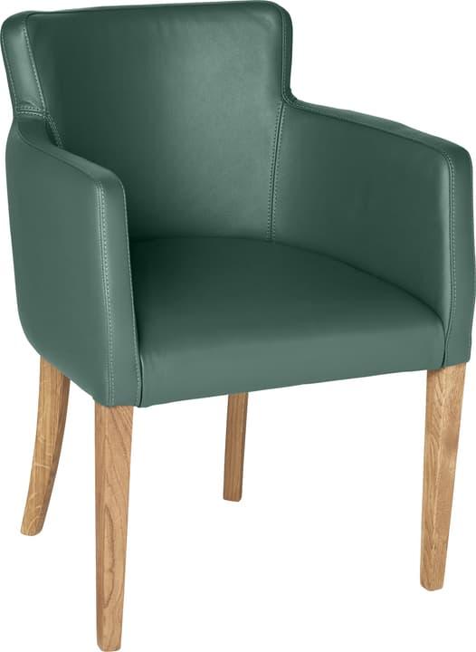 MORISANO Chaise 402358300060 Dimensions L: 56.0 cm x P: 46.0 cm x H: 79.0 cm Couleur Vert Photo no. 1