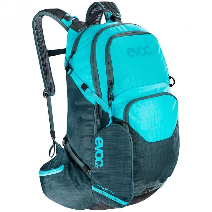 Evoc Explorer Pro 30L Sac à dos de cyclisme Performance Evoc 460263500042 Couleur bleu azur Taille Taille unique Photo no. 1