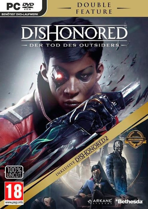PC - Dishonored 2 - Double Feature inkl. Der Tod des Outsider D Physique (Box) 785300130176 Photo no. 1