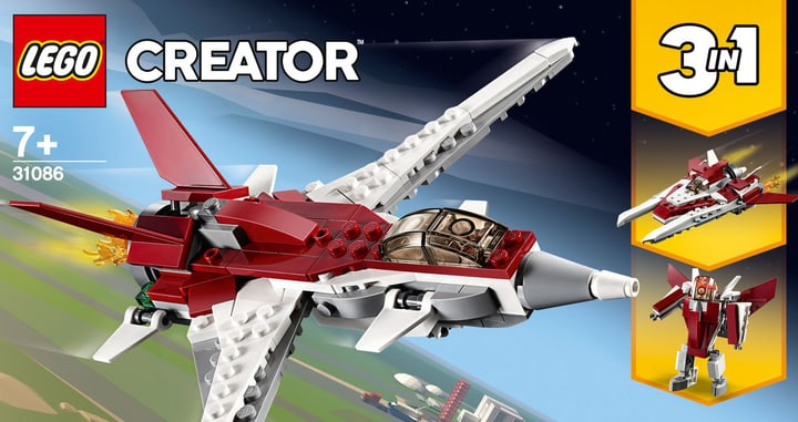 LEGO Creator 31086 L'avion futurist 748702000000 Photo no. 1