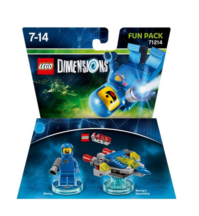 "LEGO Dimensions Fun Pack LEGO Movie ""Benny"" Physisch (Box) 785300119840 Bild Nr. 1"