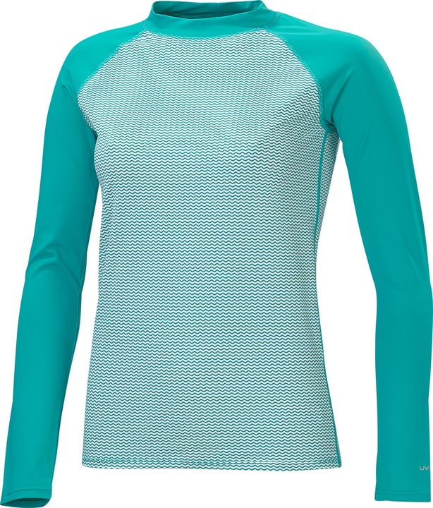 Shirt UVP pour femme ML Shirt UVP pour femme ML Extend 462199103844 Couleur turquoise Taille 38 Photo no. 1