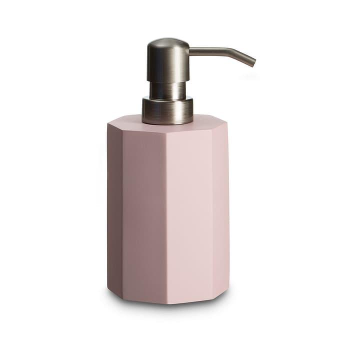INES Distributeur de savon 374113400000 Dimensions L: 8.0 cm x P: 8.0 cm x H: 16.7 cm Couleur Rose Photo no. 1