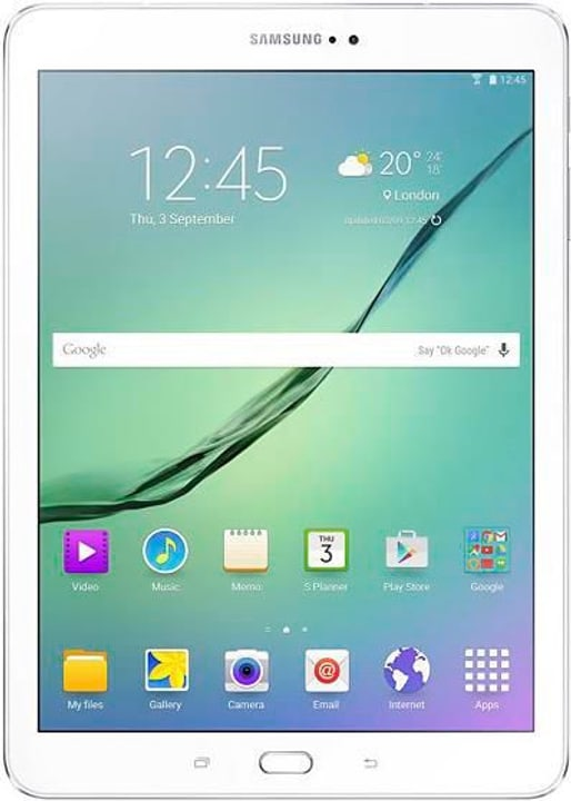Galaxy Tab S2 T819, 32GB, Value Edition, blanc Samsung 785300123000 Photo no. 1