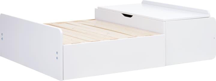 WHITE Divano letto incl. cassetti sottoletto Flexa 404965100000 N. figura 1