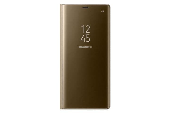 Clear Cover gold Hülle Samsung 785300129637 Bild Nr. 1