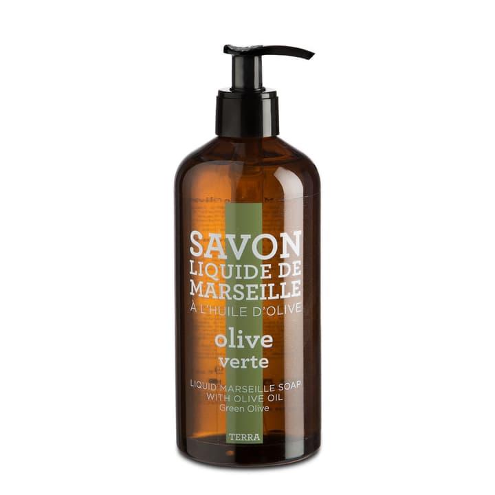 TERRA Savon liquide 374050100000 Couleur Olive Dimensions L: 7.0 cm x P: 7.0 cm x H: 19.0 cm Photo no. 1