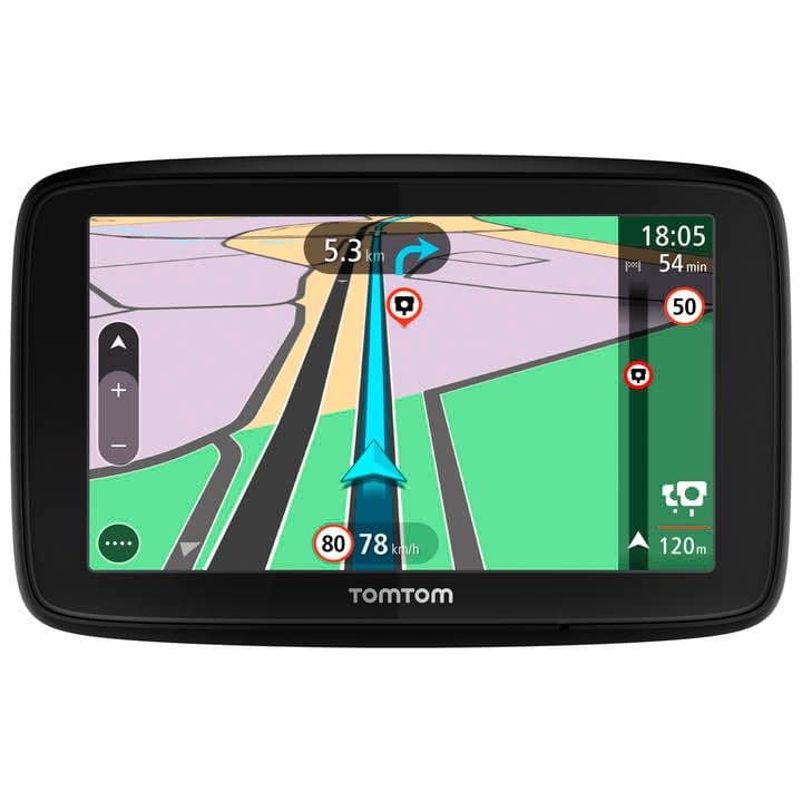 VIA 53 EU Lifetime Maps EU 5'' noir GPS Auto TOMTOM 785300144800 Photo no. 1