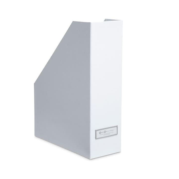 BIGSO CLASSIC Portariviste 386068800000 Dimensioni L: 25.0 cm x P: 10.0 cm x A: 32.5 cm Colore Bianco N. figura 1