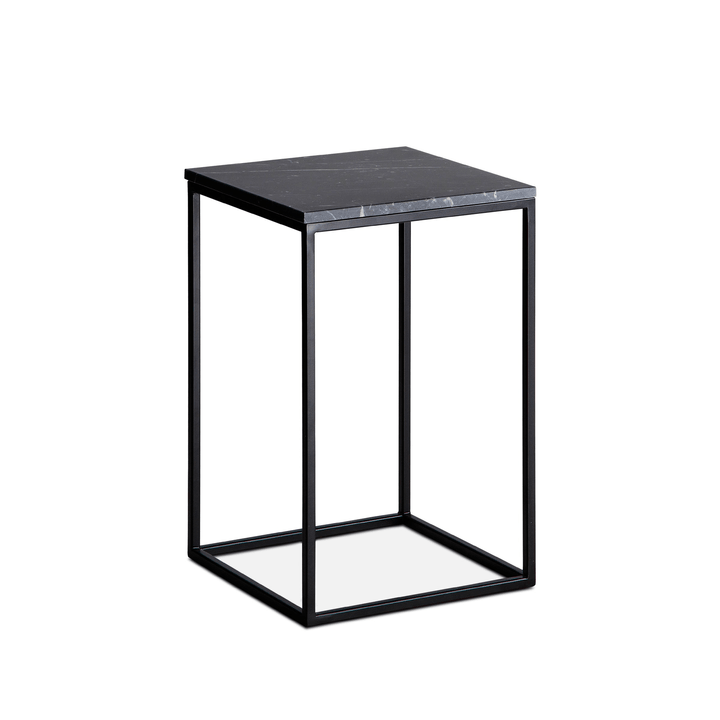 COFFEE table d'appoint 362228200000 Colore Nero varie fantasie Dimensioni L: 30.0 cm x P: 30.0 cm x A: 46.0 cm N. figura 1