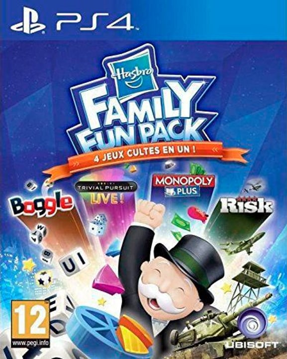 PS4 - Hasbro Family Fun Pack Physique (Box) 785300122092 Photo no. 1