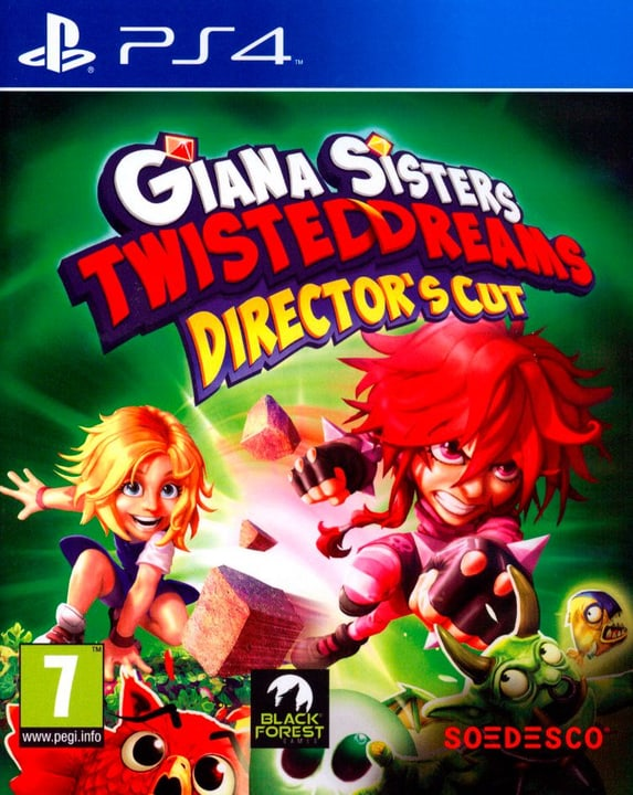 PS4 - Giana Sisters : Twisted Dreams - Director's Cut Physique (Box) 785300128210 Photo no. 1