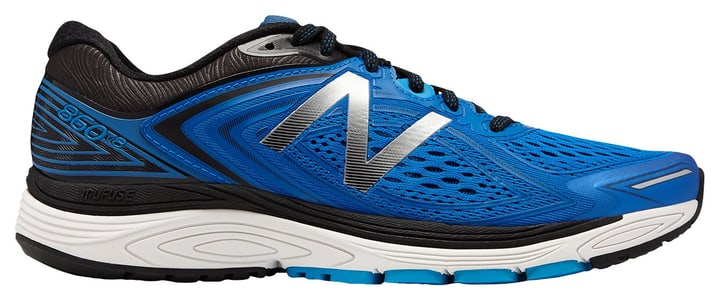 860 v8 Chaussures de course pour homme New Balance 463226241540 Couleur bleu Taille 41.5 Photo no. 1