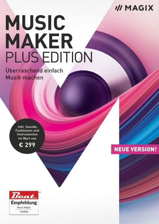 PC - Music Maker 2018 Plus Edition (D) Physisch (Box) Magix 785300129410 Bild Nr. 1