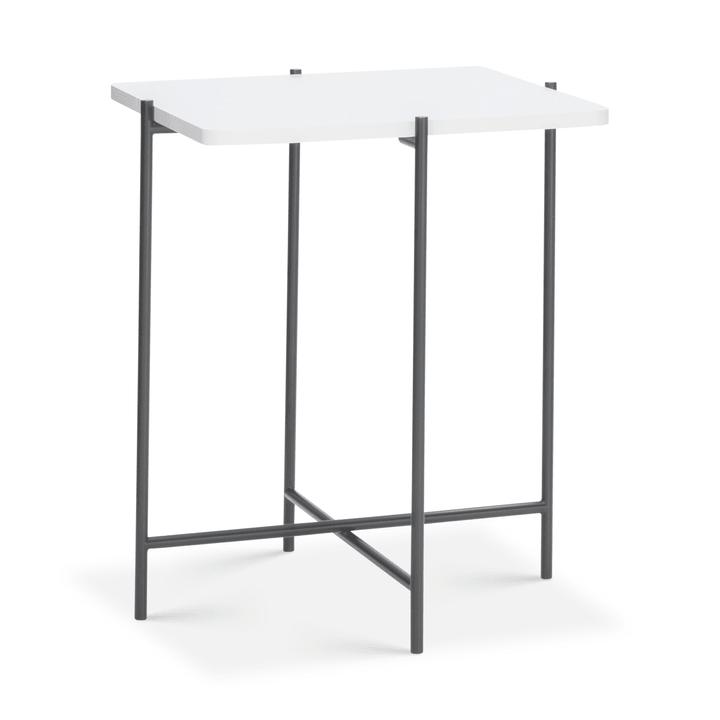 ELLY Tavolino da salotto 362254800000 Colore Bianco Dimensioni L: 40.0 cm x P: 40.0 cm x A: 48.0 cm N. figura 1