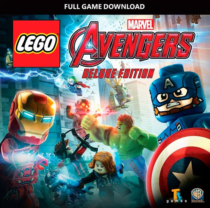 PC - LEGO MARVEL's Avengers Deluxe Edition Digitale (ESD) 785300133329 N. figura 1