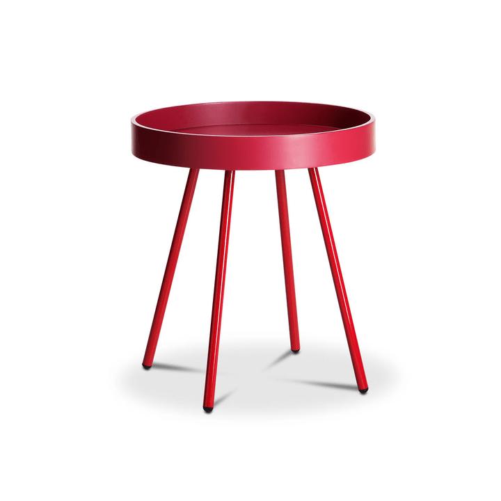 MIKA Tavolino 362081700000 Dimensioni L: 45.0 cm x P: 45.0 cm x A: 50.0 cm Colore Fucsia N. figura 1