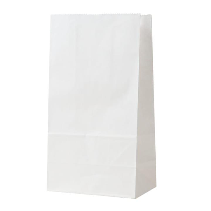 Sacchetto di carta, 13 x 24 x 8 cm, bianco, 6 pzz. I AM CREATIVE 666211000000 N. figura 1