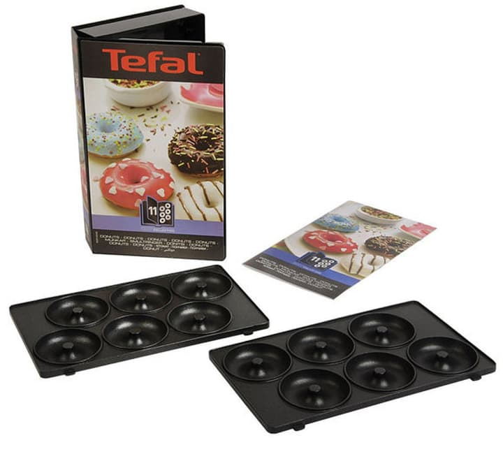 Ensemble de plaques Snack Collection Donuts tostiera Tefal 785300137436 N. figura 1